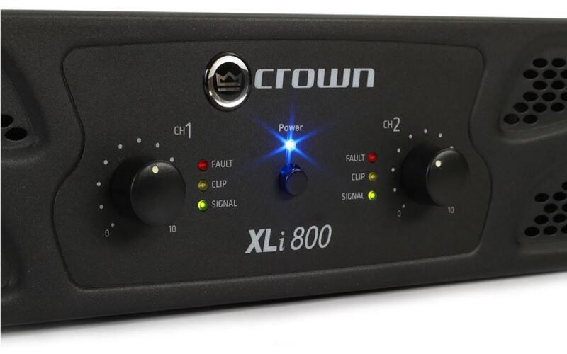 Đèn tính hiệu Cục đẩy Crown XLi 800