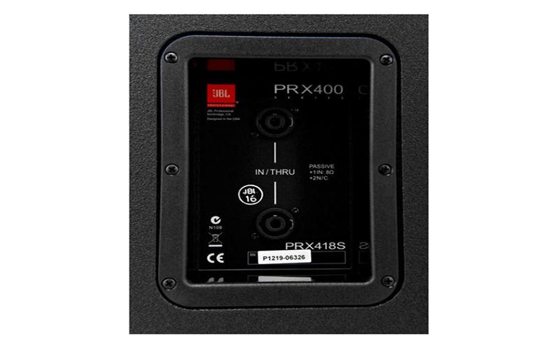 Kết nối Loa sub JBL PRX418S