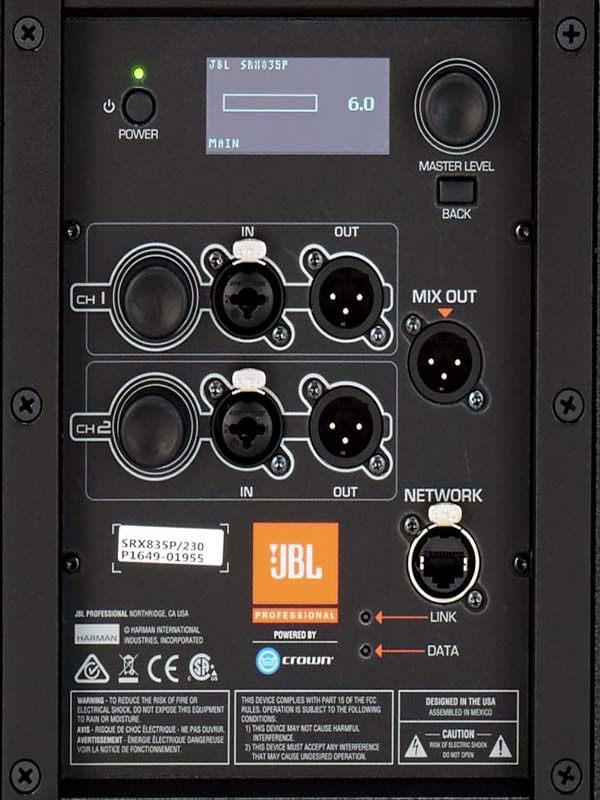 Kết nối loa JBL SRX835P