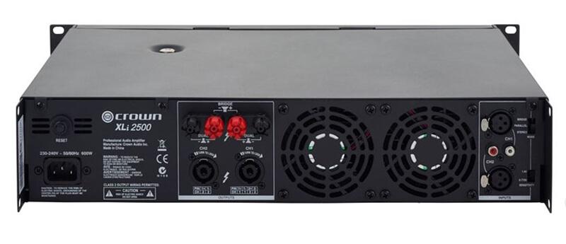 Cổng kết nối cục đẩy công suất Crown XLi 2500