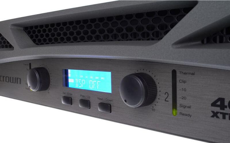 Cục đẩy công suất Crown 2 kênh XTi 4002