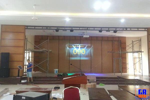 Dàn âm thanh sân khấu tại Hải Phòng