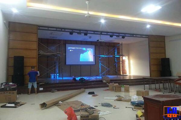 Hệ thống âm thanh sân khấu tại Hải Phòng
