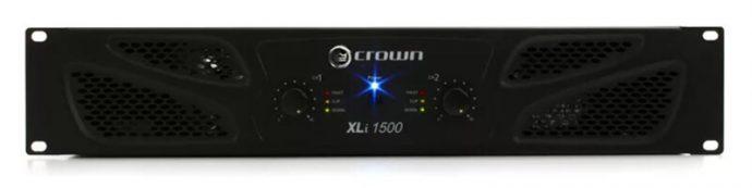 Mặt trước cục đẩy công suất Crown XLi 1500