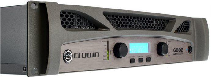 Mặt trước cục đẩy công suất Crown XTi 6002
