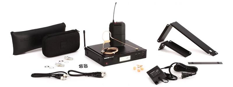 Micro không dây trùm đầu - Fullbox