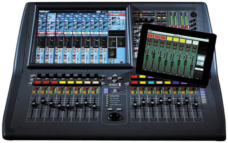 Mixer kỹ thuật số (mixer digital)
