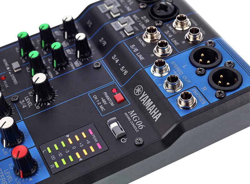 Đèn báo Mixer Yamaha MG06