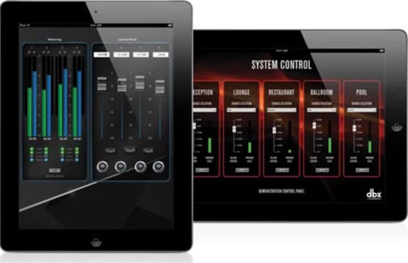 Điều khiển cục đẩy công suất Crown CDi DriveCore 2 600 bằng phần mềm