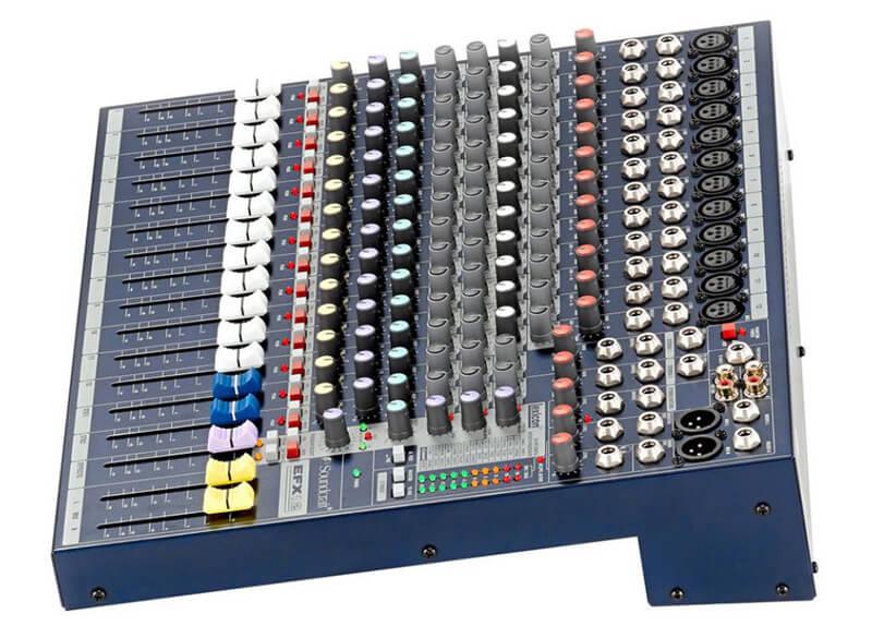 Bàn mixer soundcraft efx12 giá rẻ