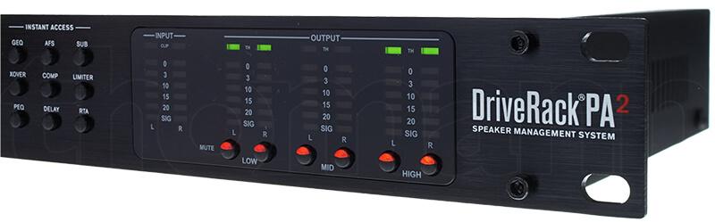 Bảng điều khiển DriveRack PA2