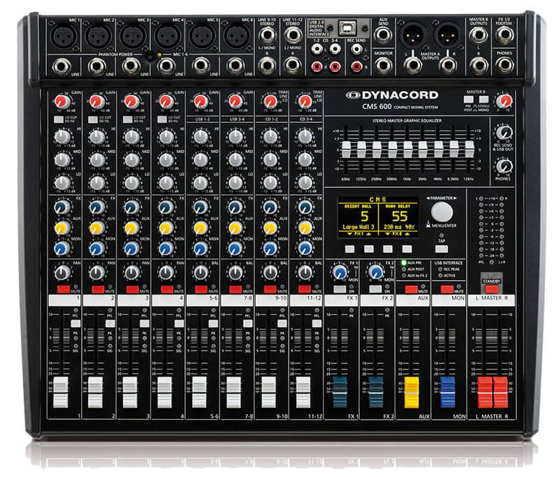 Bảng điều khiển Mixer Dynacord 600
