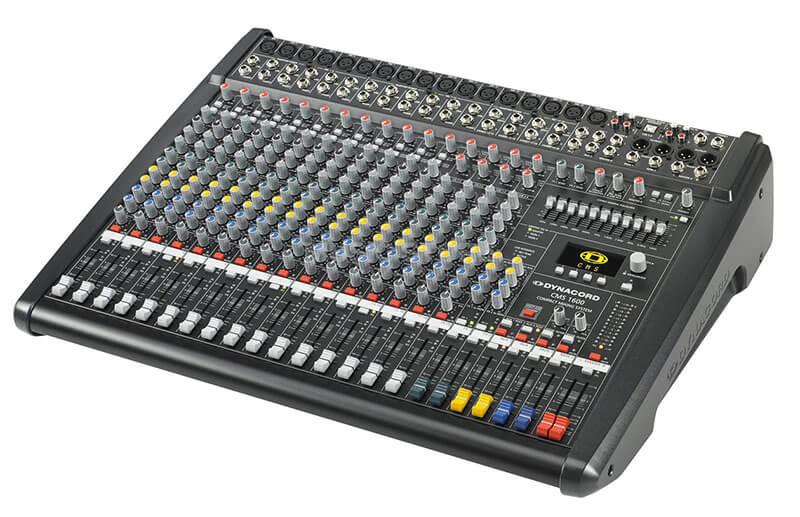 Kích thước bàn Mixer Dynacord CMS 1600