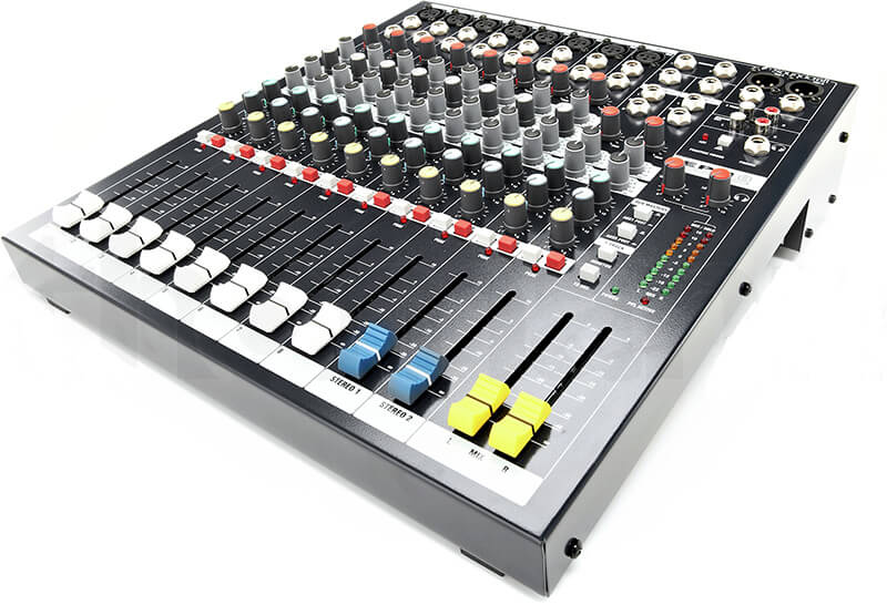 Kích thước mixer soundcraft EPM8