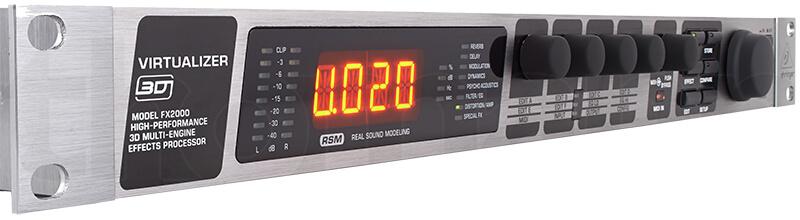 Mặt điều khiển Behringer FX2000 cao cấp