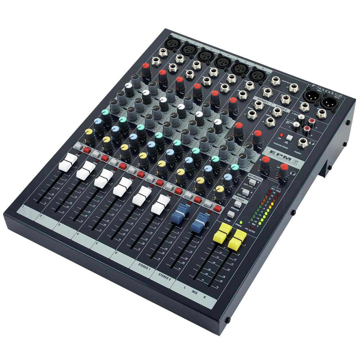 Mixer Soundcraft EPM6