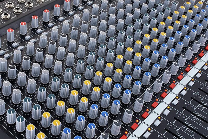 Núm điều chỉnh Mixer Dynacord CMS 1600