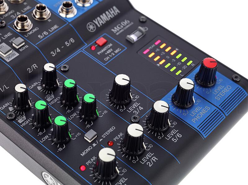 Núm điều chỉnh Mixer Yamaha MG06
