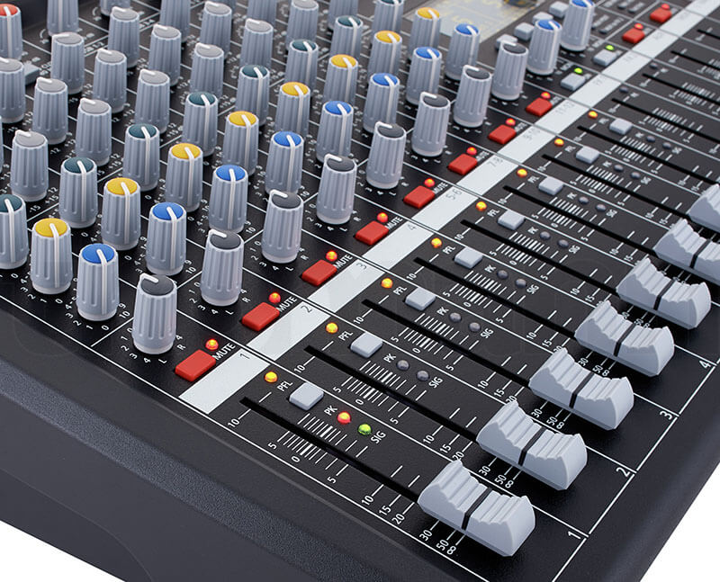 Thanh fader Mixer Dynacord CMS 600