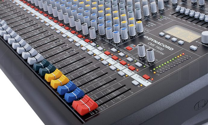 Thanh fader tổng Mixer Dynacord CMS 1600