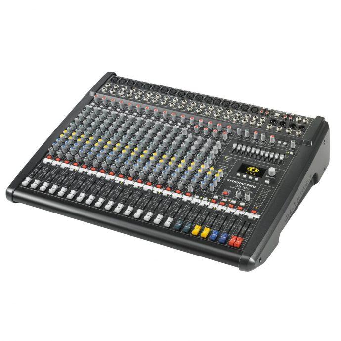 kích thước Mixer Dynacord CMS 1600