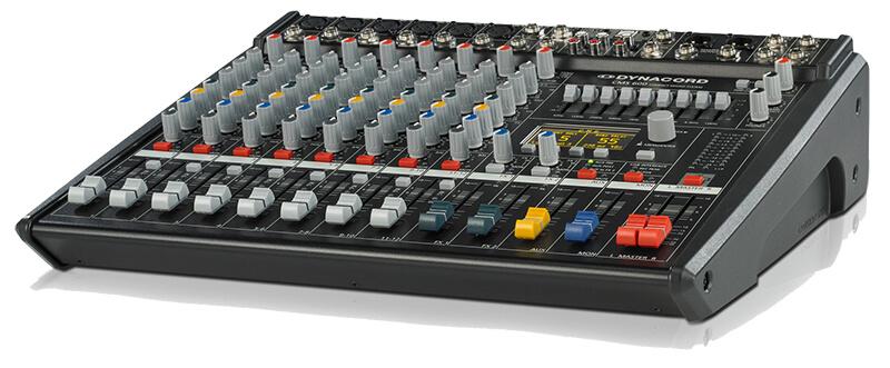kích thước Mixer Dynacord CMS 600