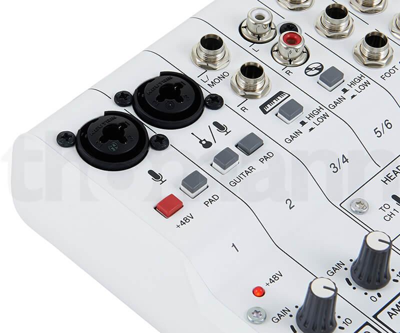 Đầu vào Mixer Yamaha AG06