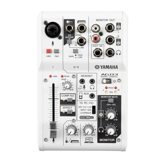 Bảng điều khiển Bàn Mixer yamaha AG03