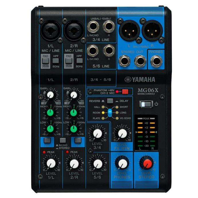 Bảng điều khiển Mixer Yamaha MG06X