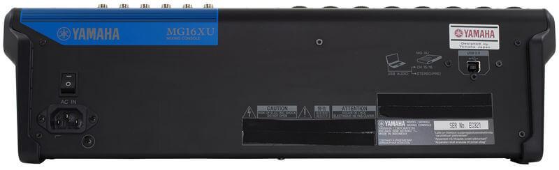 Cổng USB của Mixer Yamaha MG16XU