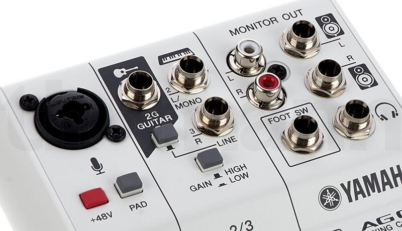 Mixer 3 kênh Yamaha AG03
