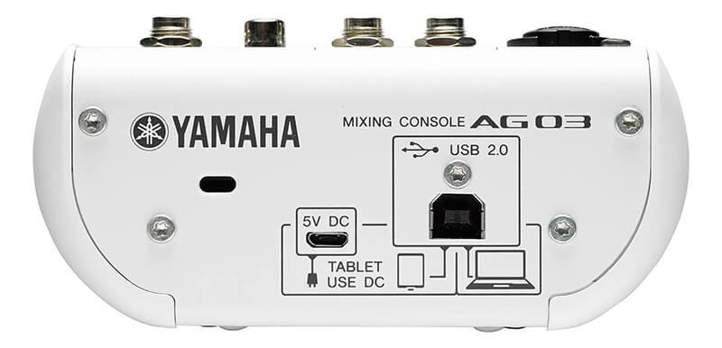 Mixer Yamaha AG03 USb