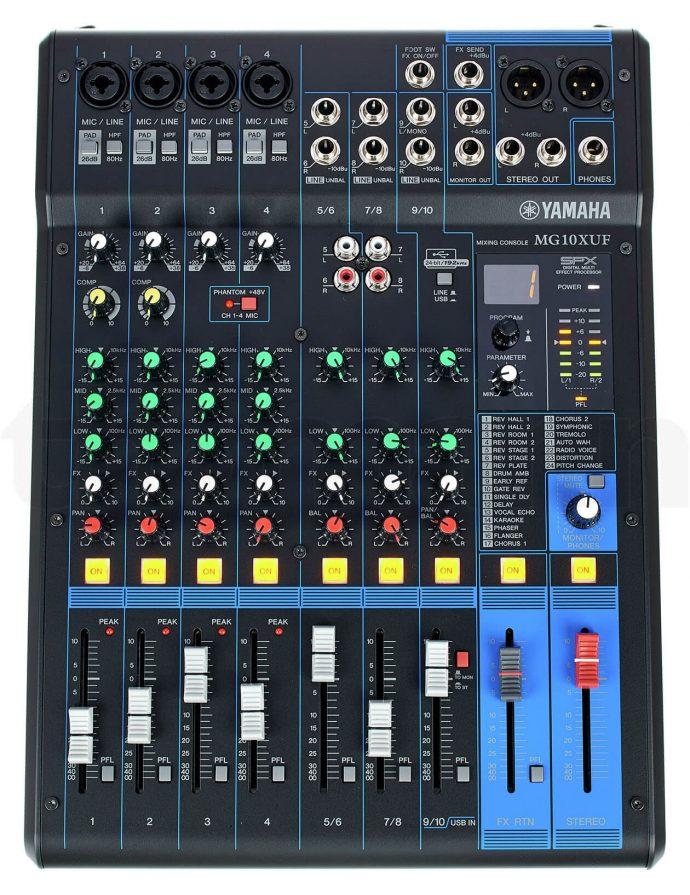 Mixer cao cấp Yamaha MG10XUF