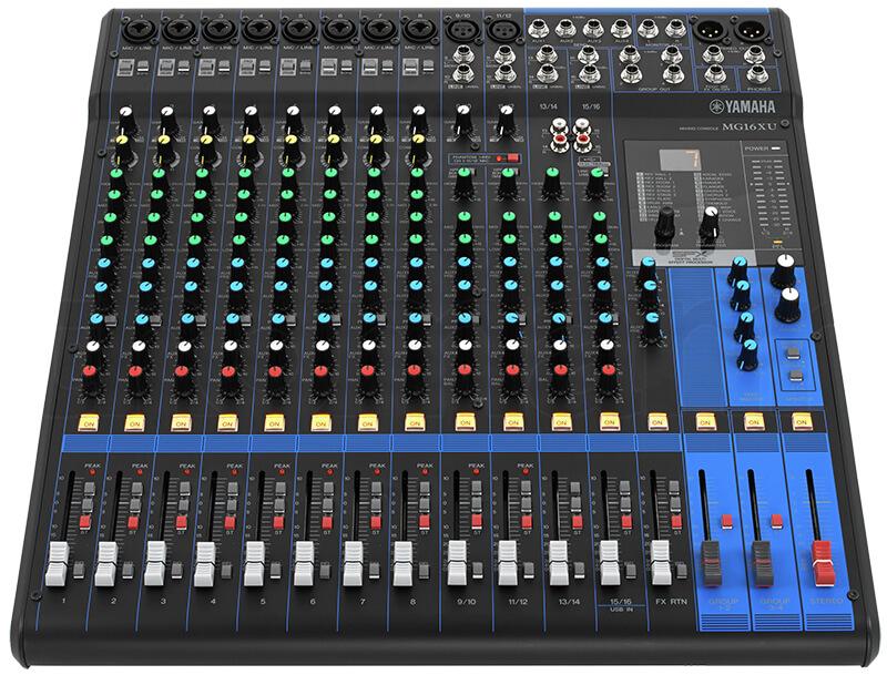 Mixer cao cấp Yamaha MG16XU