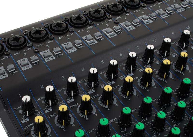 Núm điều chỉnh Mixer Yamaha MG20XU