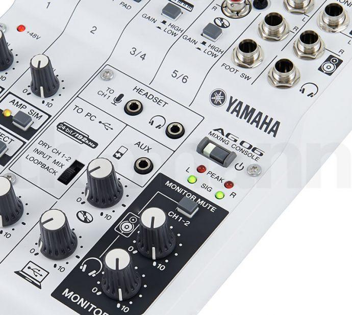 Núm điều chỉnh của Mixer Yamaha AG06