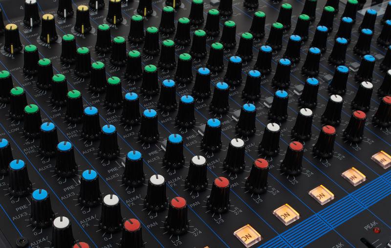 Núm điều khiển của Mixer MG16XU