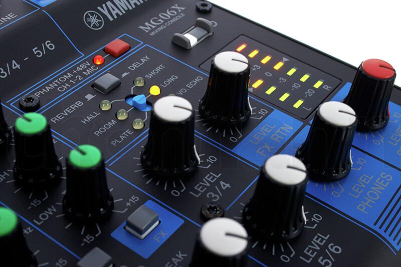 Tính năng của Mixer Yamaha MG06X