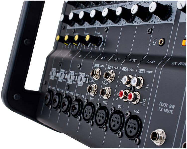Cổng đầu vào của Mixer Yamaha EMX5