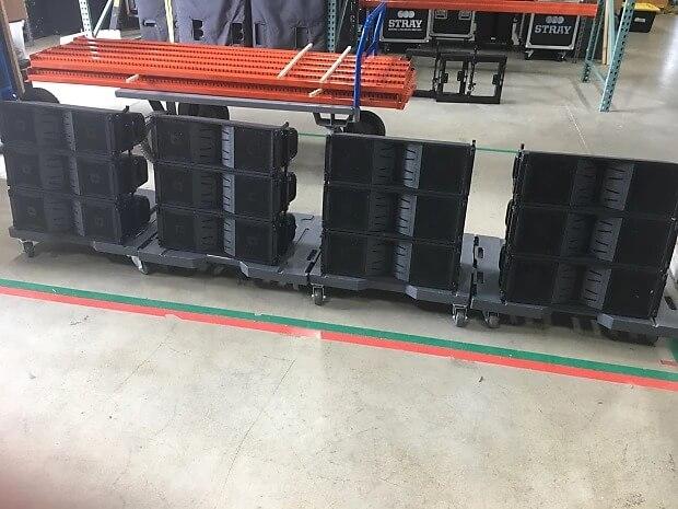 Dàn array mini với Loa JBL VT4886