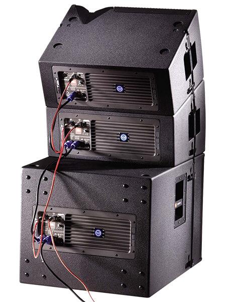 Kết nối Loa JBL VRX018SP trong dàn loa array