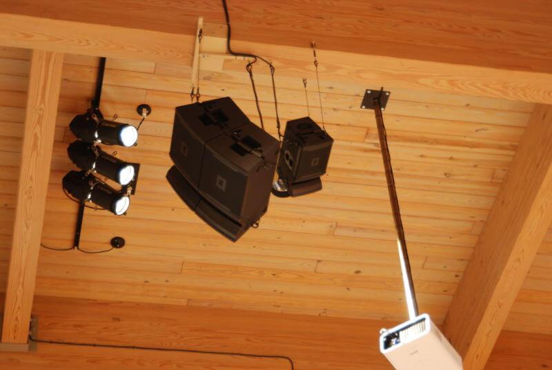Lắp đặt Loa JBL VRX928LA