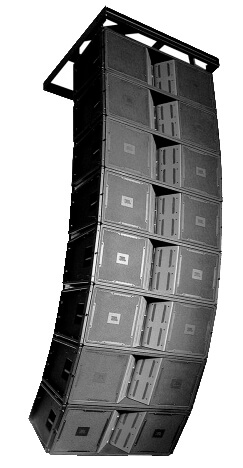 Loa JBL VT4888 trong dàn loa array treo