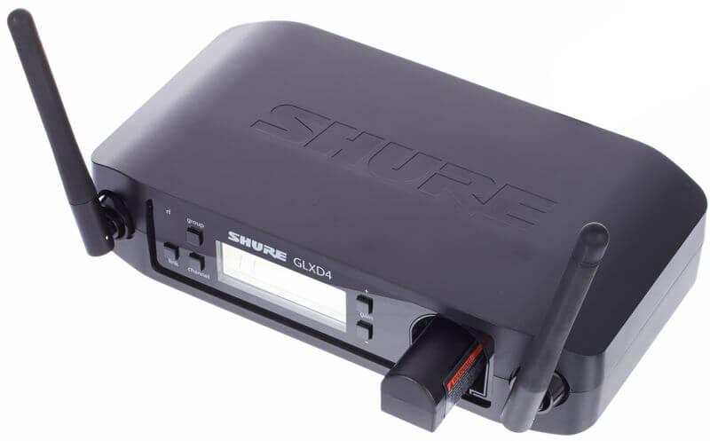 Mặt trước của Micro Shure GLXD24-SM58