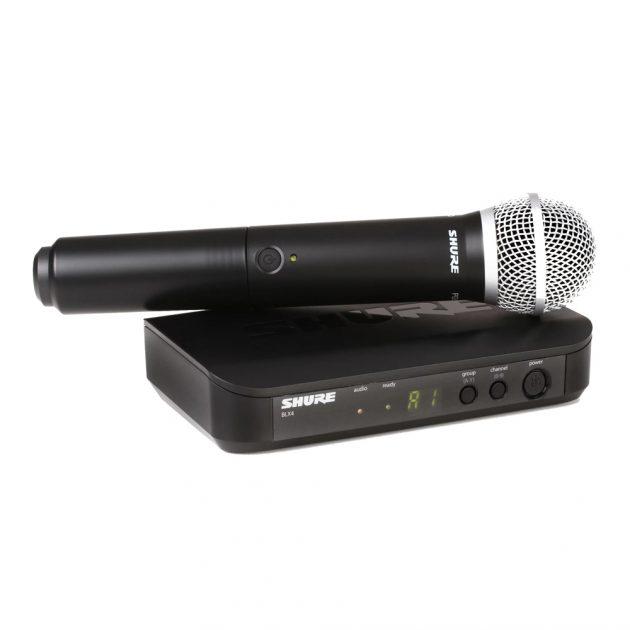 Micro Shure BLX24-PG58
