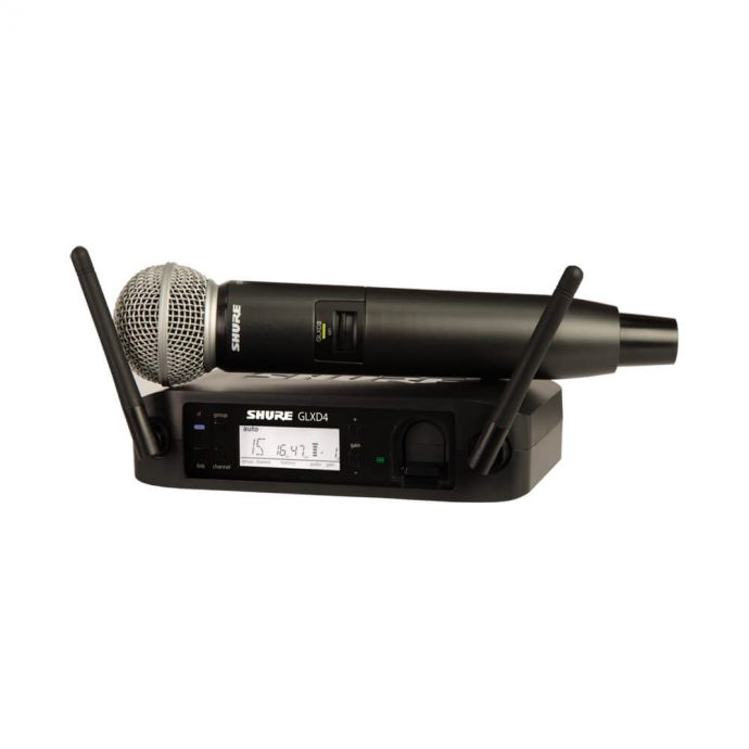 Micro Shure GLXD24-SM58