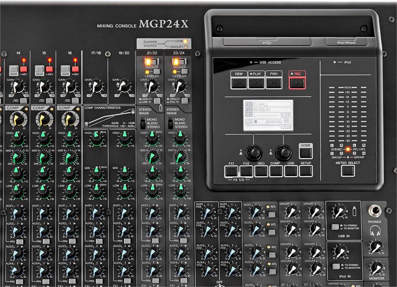 Mixer Yamaha MGP12X có nhiều tính năng cao cấp