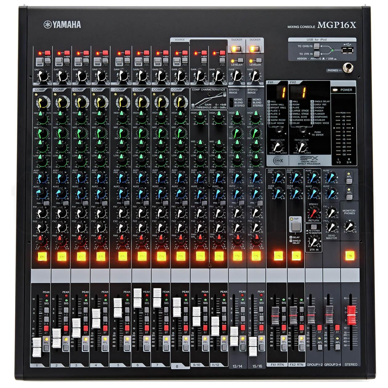 Mixer Yamaha MGP16X cao cấp