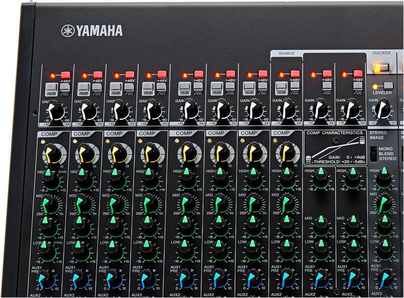 Núm điều khiển của Mixer Yamaha MGP16X