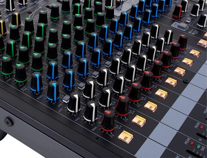 Núm điều khiển của Mixer Yamha MGP12X